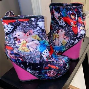 Shoes - Multi Color Booties
